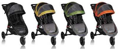 Baby Jogger City Mini GT Stroller Colors