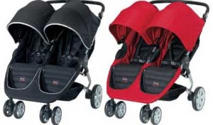 Britax B-Agile Double Stroller Fabric Options