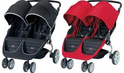 britax b agile double vs baby jogger city mini double 2011 baby chattel. Black Bedroom Furniture Sets. Home Design Ideas