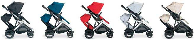 Britax B-Ready Stroller and Second Seat Fabric Options
