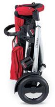 Folded B-Ready Stroller