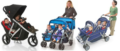 Multi-Child or Tandem Strollers