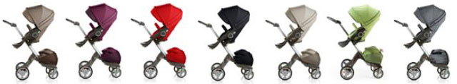Stokke Xplory Stroller Available Colors