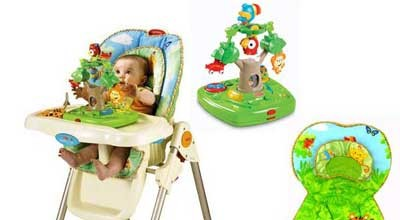 Fisher-Price-Rainforest-High-Chair-Review
