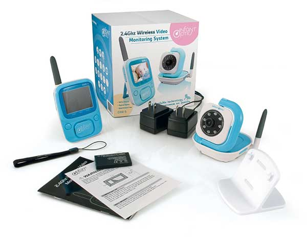 infant optics dxr 5 digital video baby monitor review baby chattel. Black Bedroom Furniture Sets. Home Design Ideas