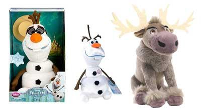 Disney-Frozen-Olaf-Sven-Talking-Plushies