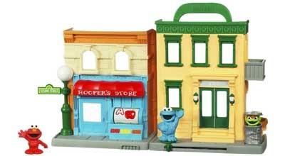 Playskool-Sesame-Street-Neighborhood-Playset