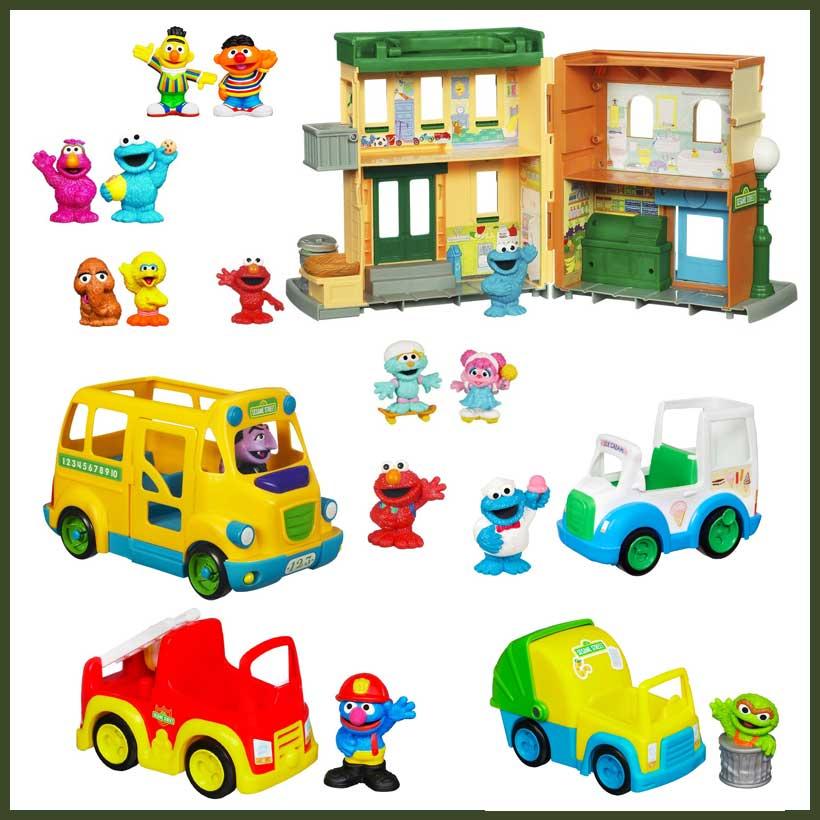 Playskool-Sesame-Street-Neighborhood-Playset-and-Figures