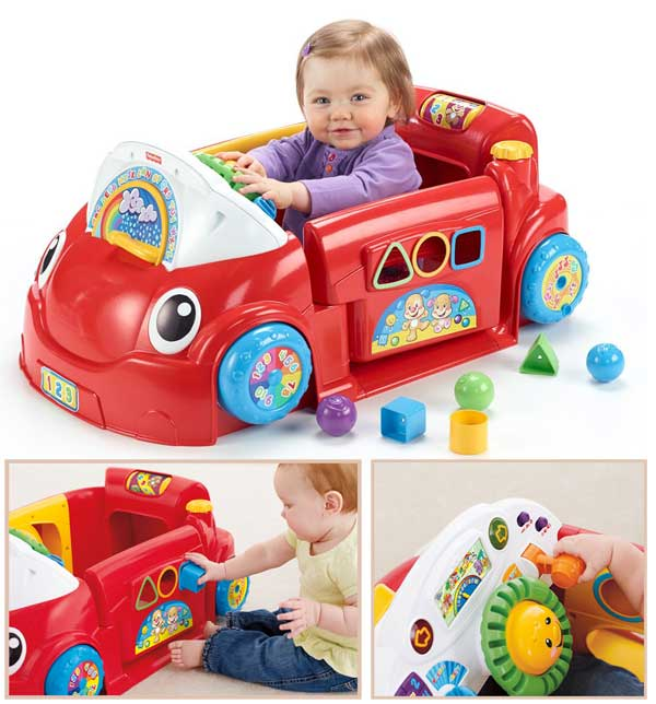Walmart Baby Toys 12 Months : Fisher price laugh and learn crawl around car baby chattel