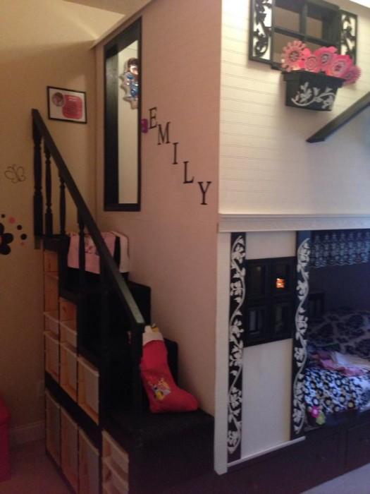 Loft Playhouse Bed