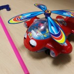 LSImport Airplane Push Toys